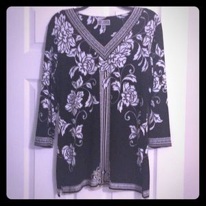 JM Collection Blouse Size Medium